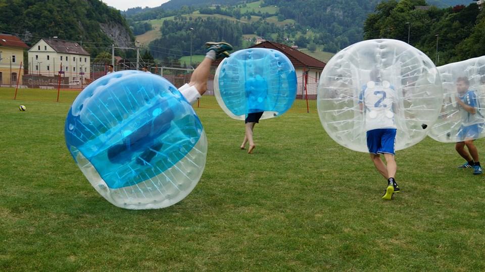 Bubblesoccer mieten