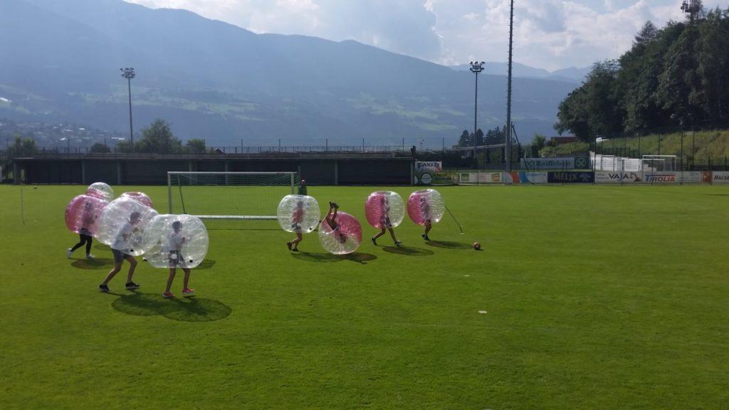 Bubblesoccer für Kinder